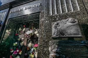 visita guiada cementerio recoleta